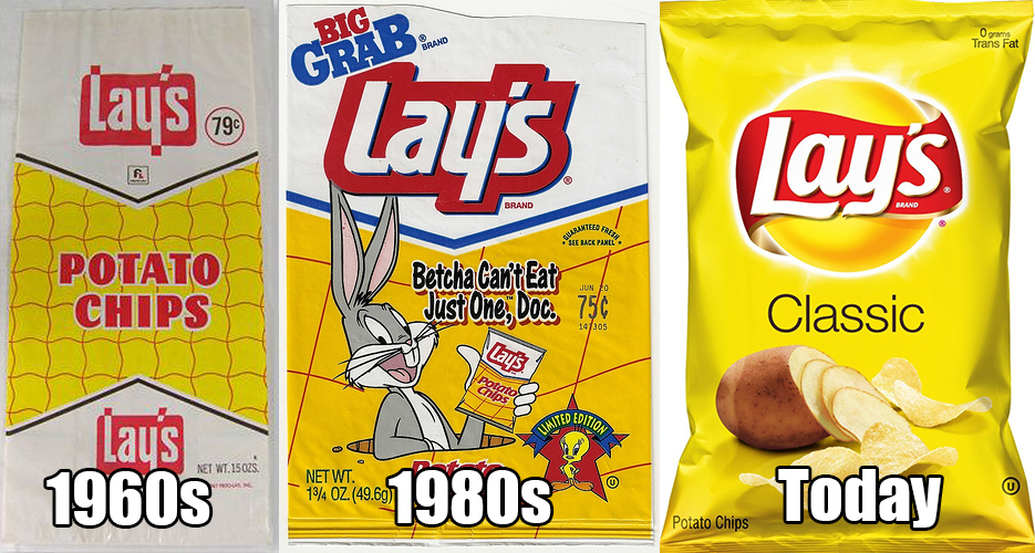Here's how 7 chip brands have changed since we were kids