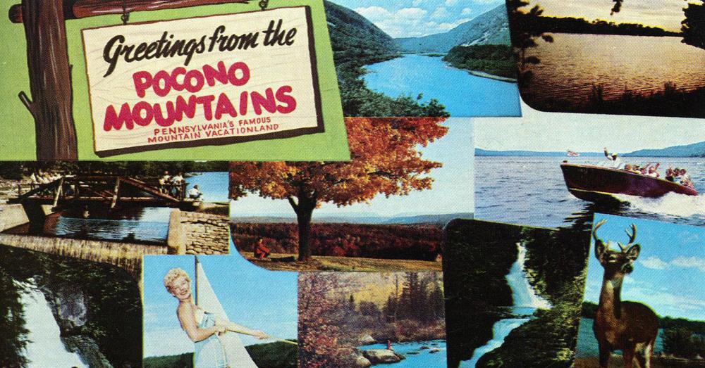 Vintage Vacation Photos From The Poconos