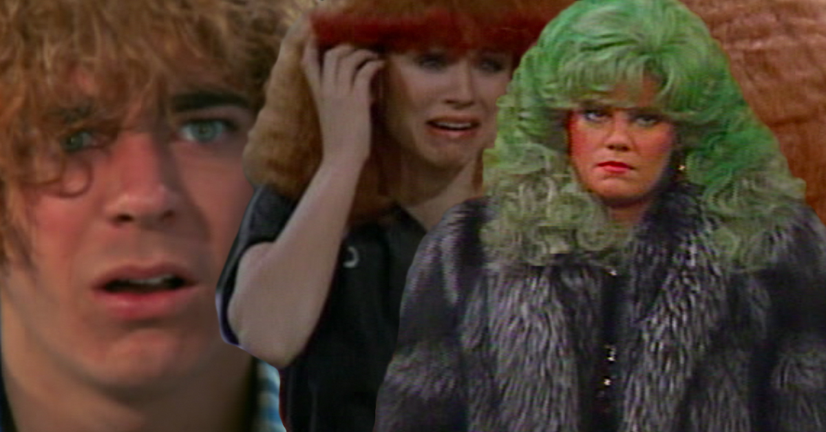 Top 10 Bad Hair Days Well Never Forget From Sitcom Hairdo History