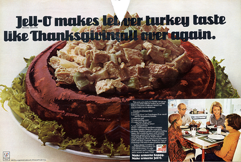 Weird food we used to make with Jell,O during the holidays