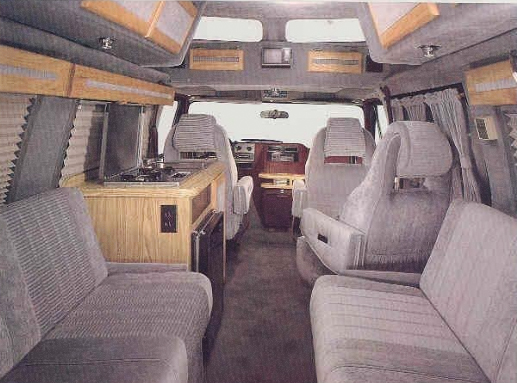 remember when practically every family had a conversion van. Black Bedroom Furniture Sets. Home Design Ideas