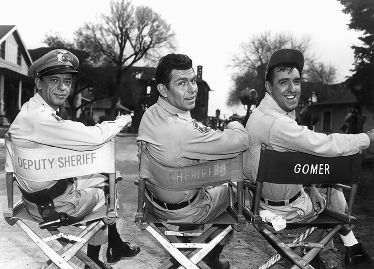 11 rare behind-the-scenes photos from 'The Andy Griffith Show'