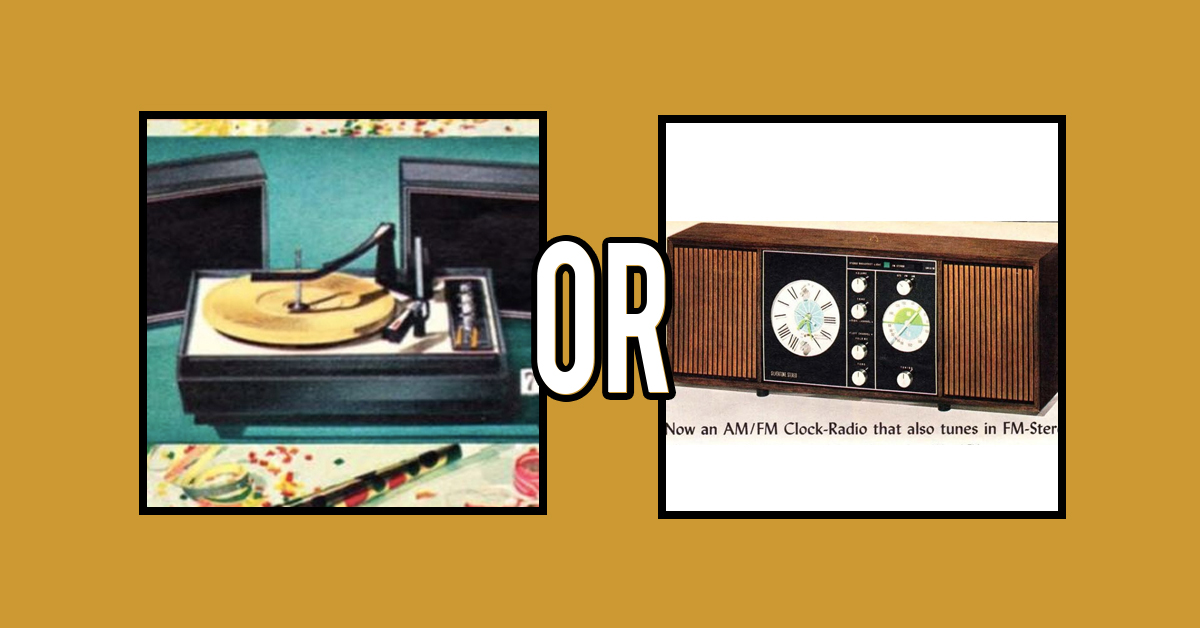 Can you guess which item cost more in 1968?