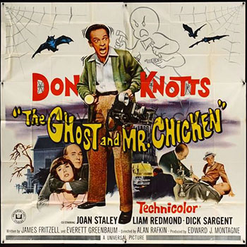 the ghost and mr chicken full movie youtube