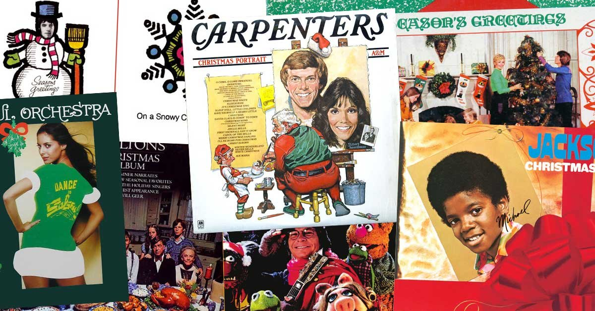 Brady Bunch Christmas Card.These Were The Best Selling Christmas Albums Of The 1970s