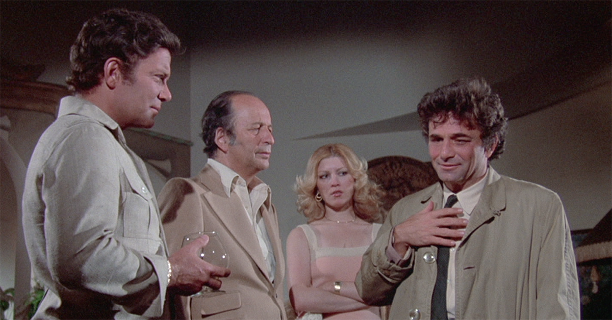 Peter Falk's real wife appeared on Columbo more than any other actress