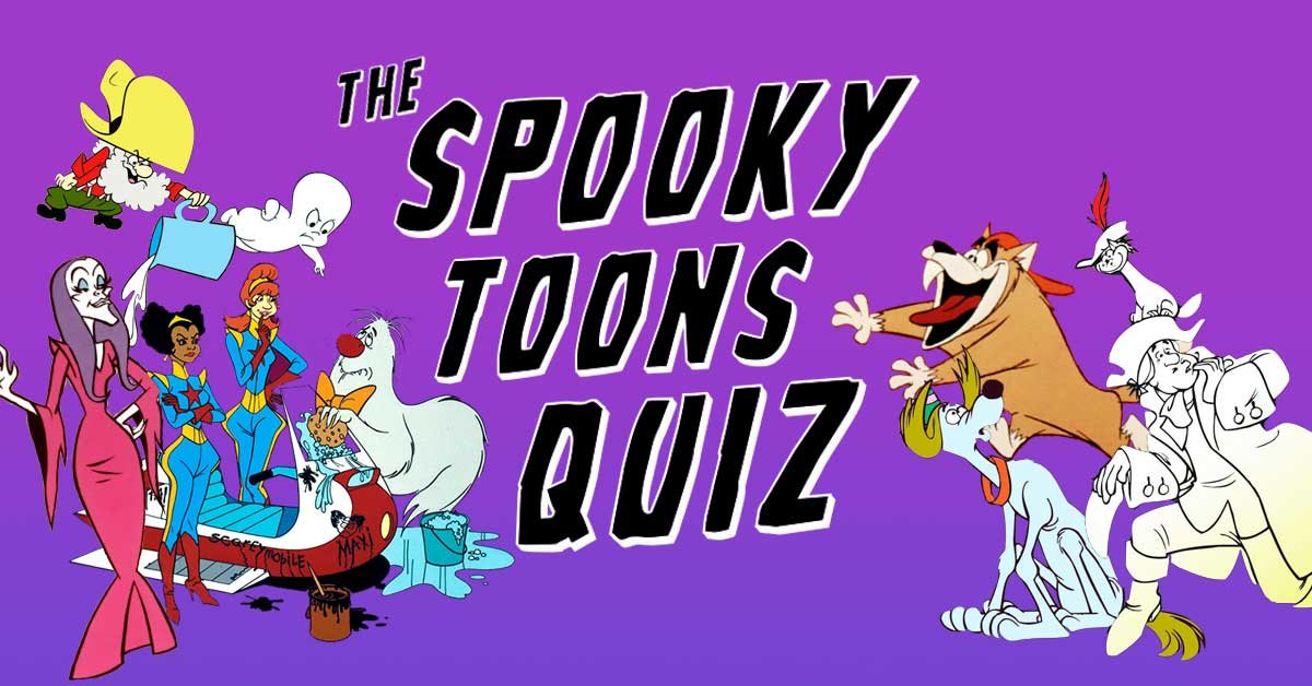 Can you name these spooky Saturday morning cartoon characters?