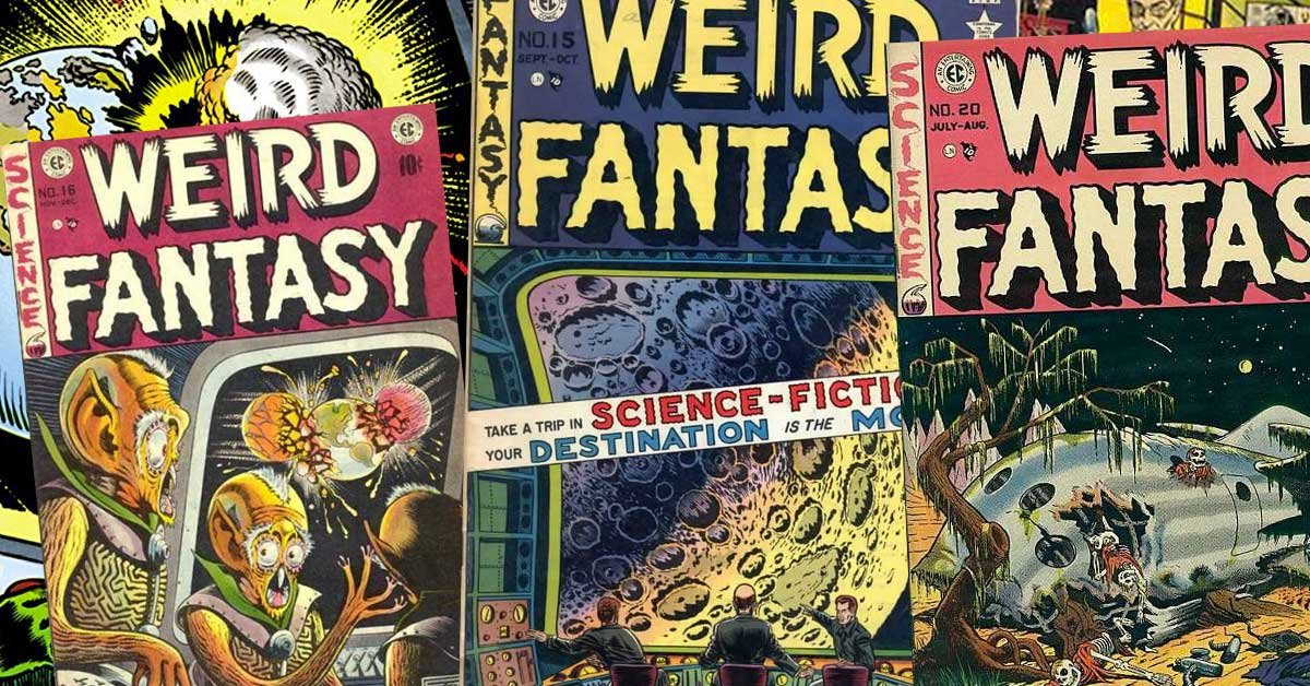 Classic 1950s science-fiction comic 'Weird Fantasy' is being