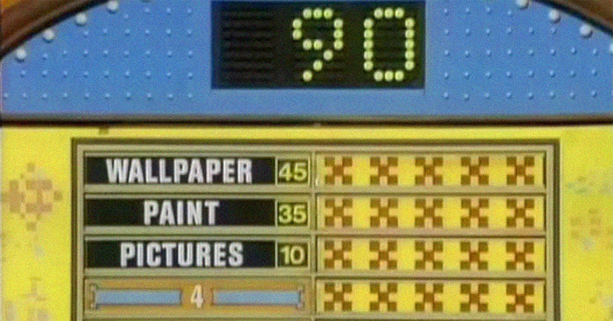 Can you identify these '80s game shows by their sets alone?