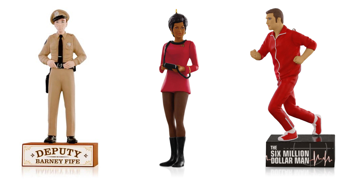 8 great new Christmas ornaments for classic TV fans