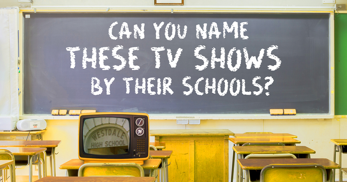 their these TV  high identify Can shows fictional you by