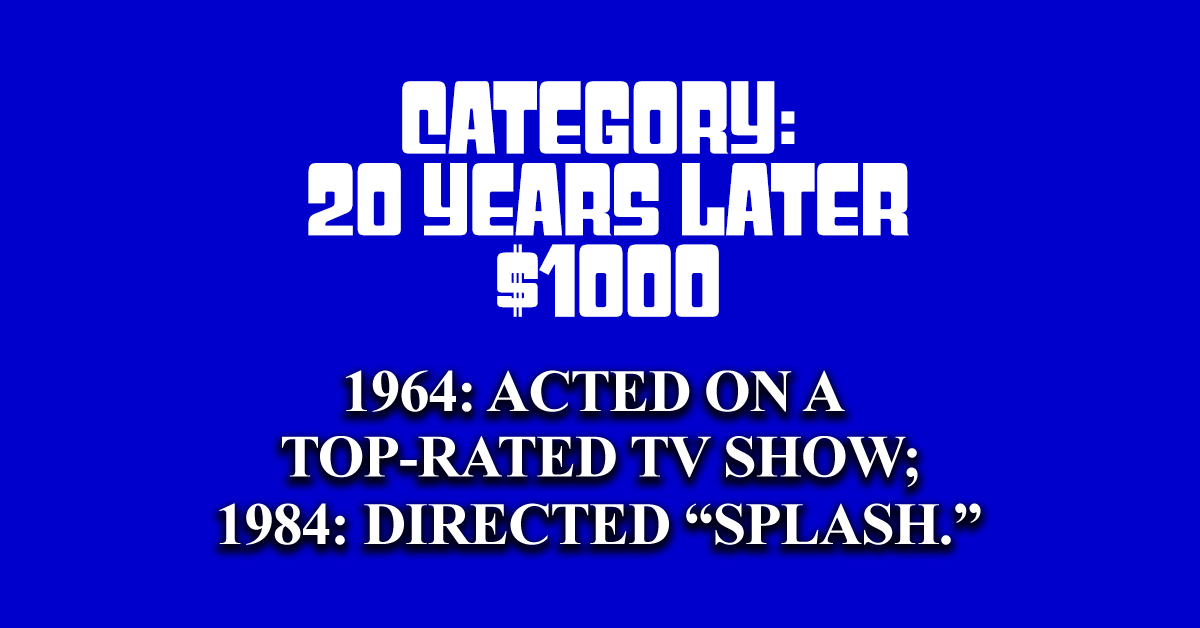 Can you answer these classic TV questions from real