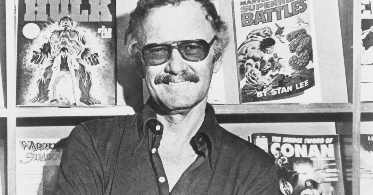 Stan Lee, co-creator of Spider-Man and the Incredible Hulk
