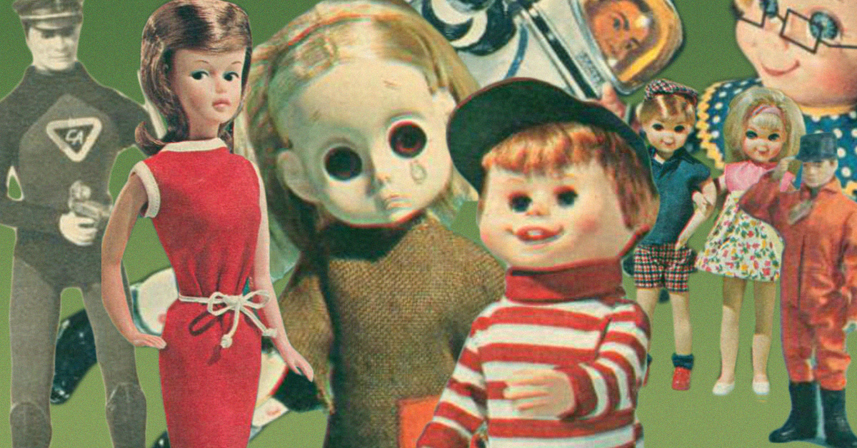10 dolls every boy and girl wanted for christmas in the 1960s - Animated Christmas Dolls