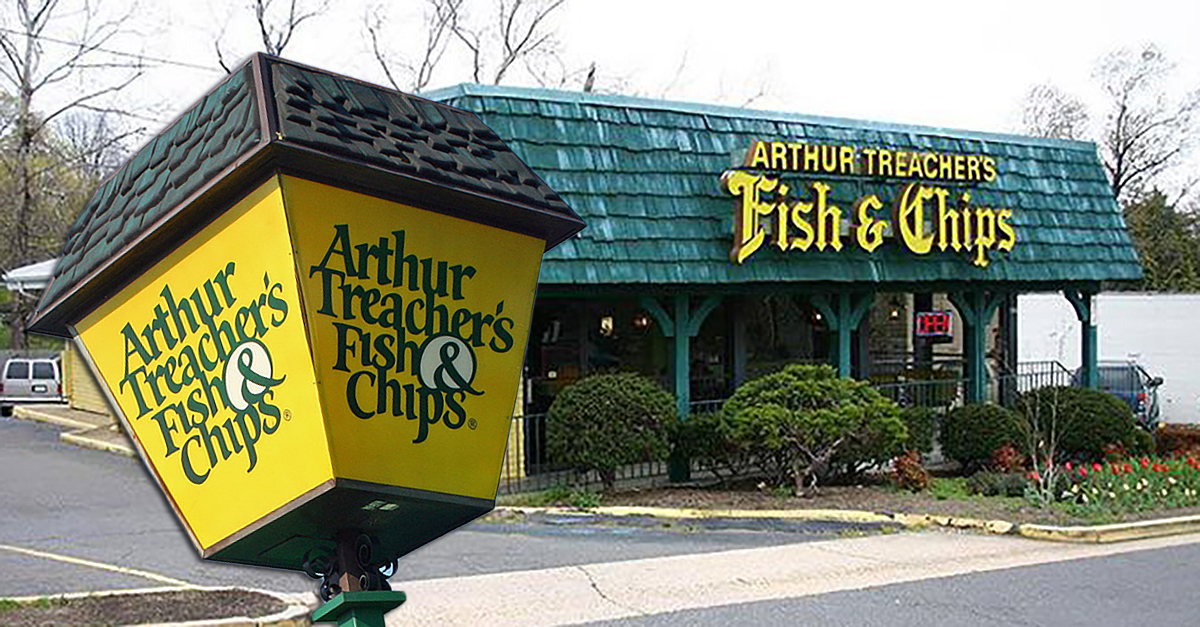 What ever happened to arthur treacher 39 s fish chips for Fish fast food near me