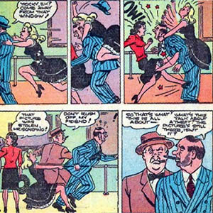 Daily online comic strip und
